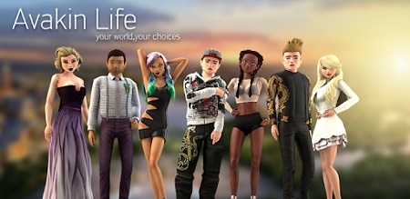 Avakin life mod for android