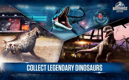 Jurassic world mod apk (gameplay screenshot)