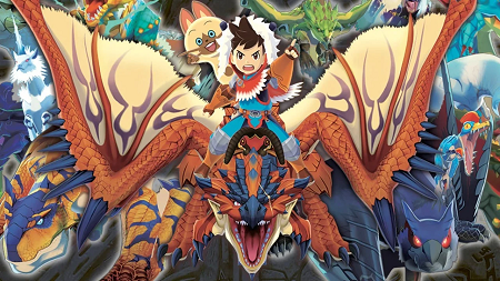 Monster Hunter stories apk for android (Gameplay screenshot)