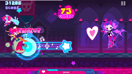 Muse dash apk for android (Gameplay screenshot)