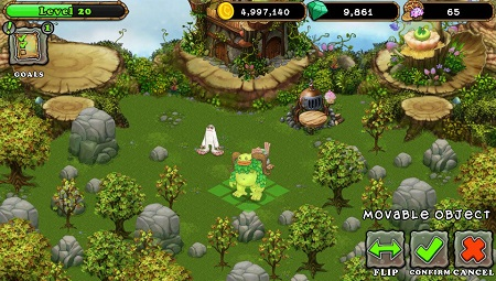 My Singing Monsters Mod Apk (Gameplay screenshot)