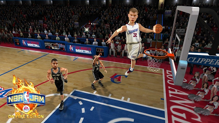 NBA jam apk (gameplay screenshot)