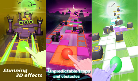 Rolling sky apk for android (Gameplay screenshots)