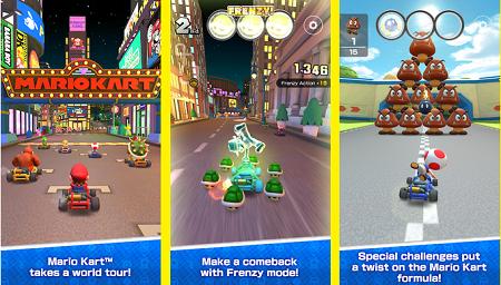 Mario kart tour apk for android (Gameplay screenshot)