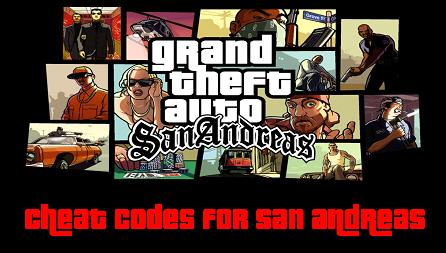 GTA san andreas apk android cheat codes